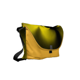 Twisted Yellow Small Messenger Bag