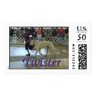 Twister and Donna 12-05-09 Postage