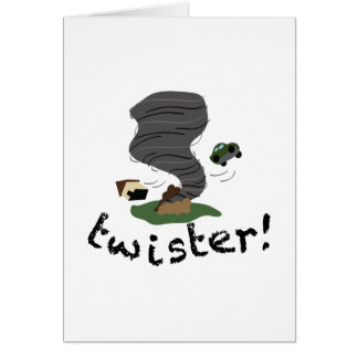 Twister! Greeting Card