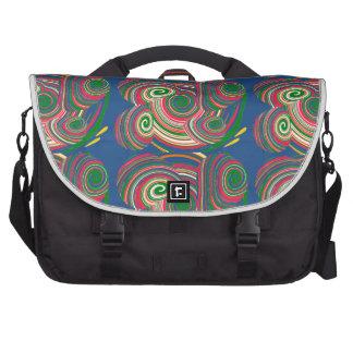 Twister, digital art design computer bag
