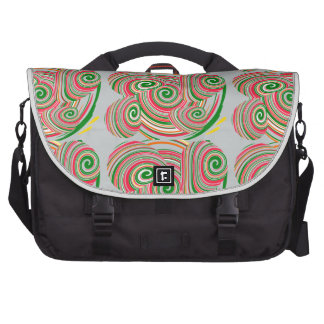 Twister, digital art design commuter bags