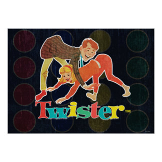 Twister Kids Poster