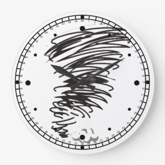 Twister Large Clock
