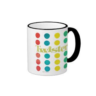 Twister Logo in Game Mat Ringer Coffee Mug