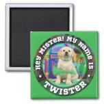 Twister (mister) Name magnet