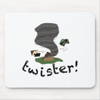Twister! Mouse Pad