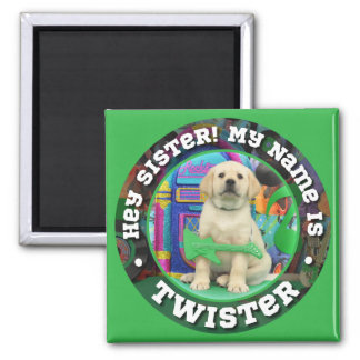 Twister (sister) Name magnet