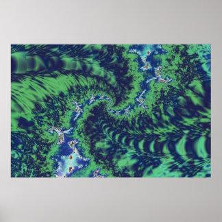 Twisting ferns poster