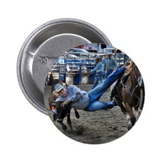 Twisting Horns Pinback Button
