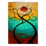 Twisting Love Original Art MADART Design Card