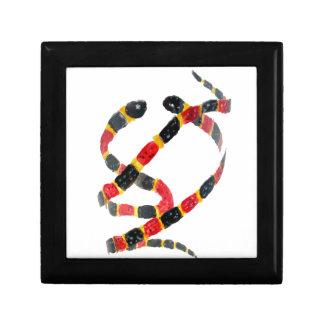 Twisting Snake Art Jewelry Box
