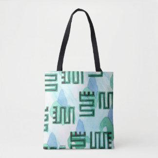 Twisting Tote Bag