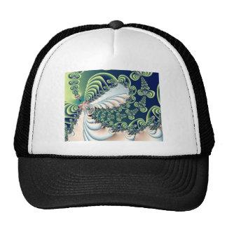 Twisting Wizard Fractal Art Trucker Hat