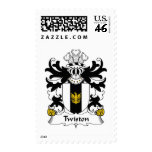Twiston Family Crest Postage Stamps