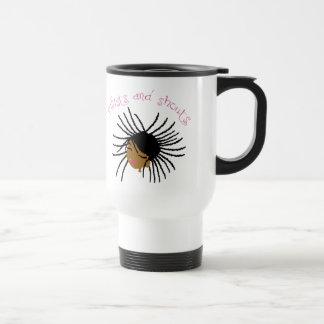 Twists and Shouts Girl's Travel Cup Coffee Mug