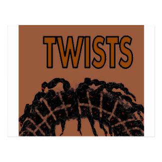 twists postcard