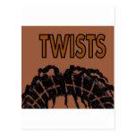 twists postcards