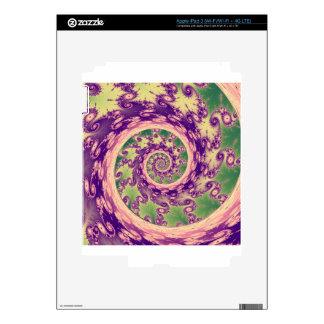 Twisty Fractal iPad 3 Skins