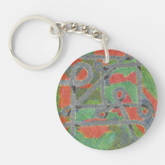 Twisty Pipes Upon Harsh Chemicals Acrylic Keychain