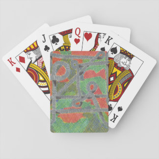 Twisty Pipes Upon Harsh Chemicals Playing Cards