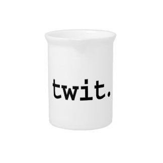 twit drink pitcher