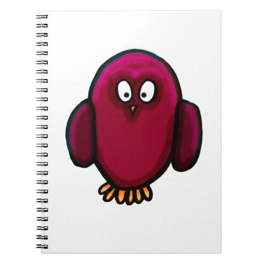Twit twoo owl notebook