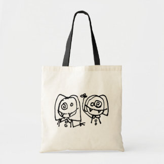 Twitarded Just Heads Tote