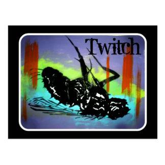 Twitch Dead Fly Postcard