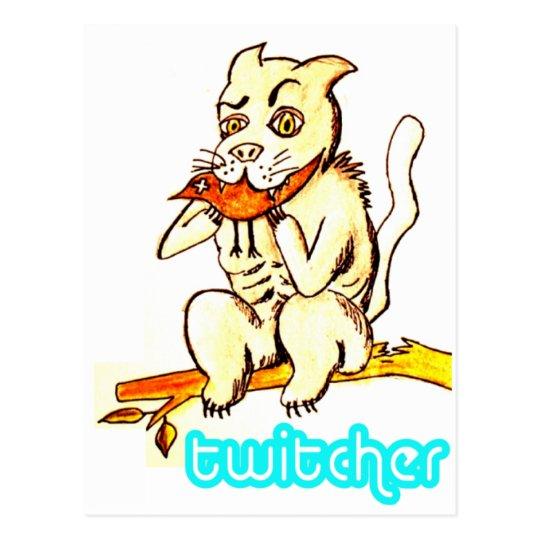 Twitcher Post Card