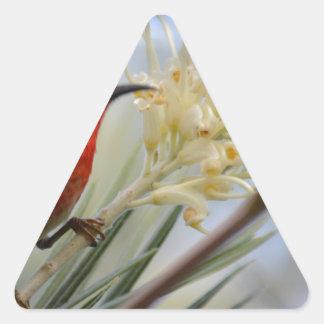 Twitcher series triangle sticker