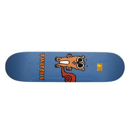 Twitchy Board Skate Deck