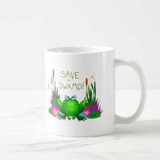 Twitchy the Frog Wetlands Nature Conservation Coffee Mug