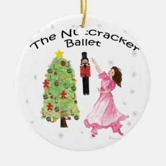 Twitt Beautiful Clara in the Nutcracker Ballet Ceramic Ornament