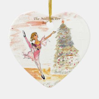 Twitt Clara and the Nutcracker 2016 Ceramic Ornament