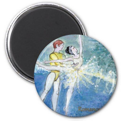 Twitt Swanlake Ballet Magnets