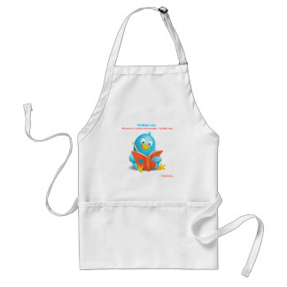 Twitter 101: Love Yourself Quote Apparel Gifts Adult Apron