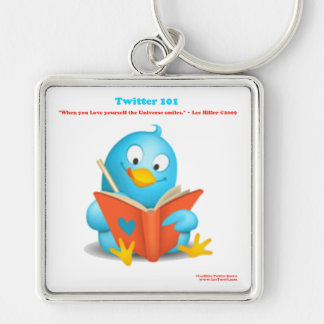 Twitter 101: Love Yourself Quote Apparel Gifts Key Chains