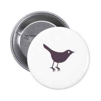 Twitter 2 Inch Round Button