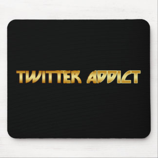 Twitter Addict Mouse Pad