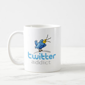 twitter addict mug