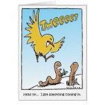 Twitter Bird Birthday Greeting Card