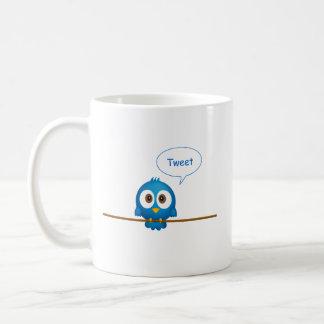 Twitter bird coffee mug
