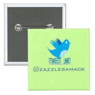 Twitter Bird Follow Me- Choose Background Color Button