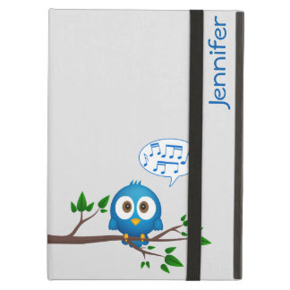 twitter bird singing iPad air cover
