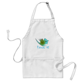 Twitter Birds Arpons Adult Apron