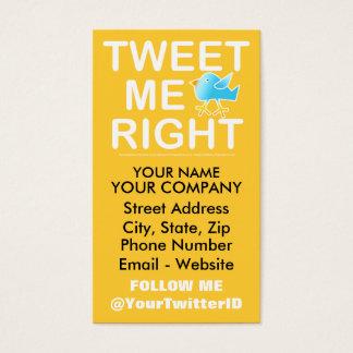 Twitter Business Card