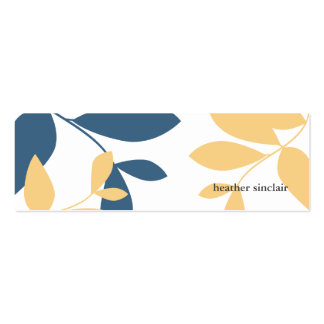 twitter card Double-Sided mini business cards (Pack of 20)