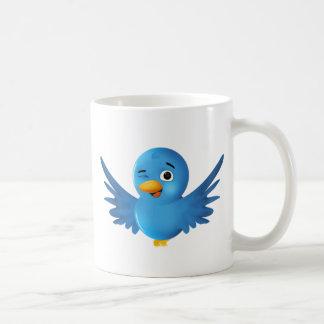 Twitter Coffee Cup Classic White Coffee Mug