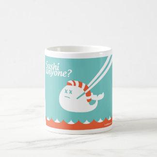 Twitter Coffee Tea Mug - Stupid Fail Whale - Sushi