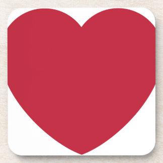Twitter Coils Heart Emoji Coaster